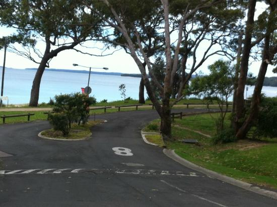 Huskisson White Sands Holiday Park: View from park entrance