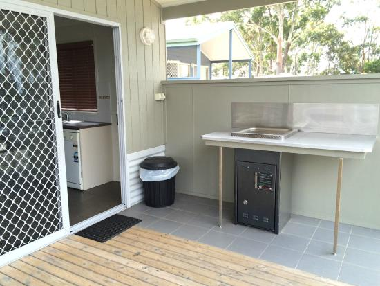 Huskisson White Sands Holiday Park: Private BBQ