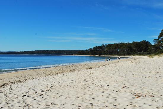 Huskisson White Sands Tourist Park: Huskisson beach