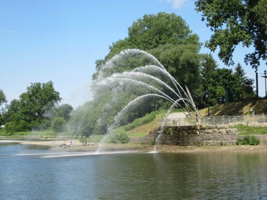 The Walter J. Blackburn Memorial Fountain