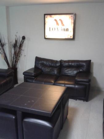 Loa Inn Puebla : Estancia del Hotel (entrada)