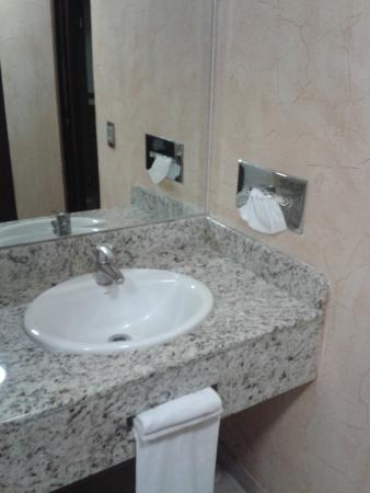 Loa Inn Puebla : Buenas condiciones del Baño