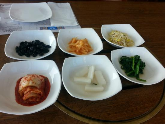Myung Ga Korean Restaurant : appetizer