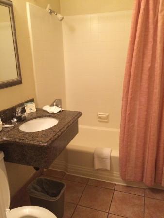 Pacific Inn Hotel & Suites: Bagno