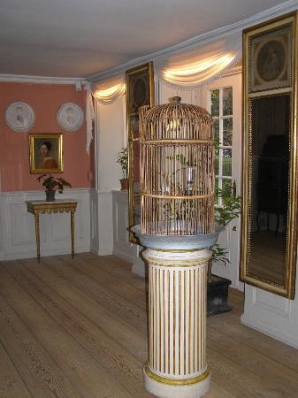 Bakkehusmuseet: Levende fugle.