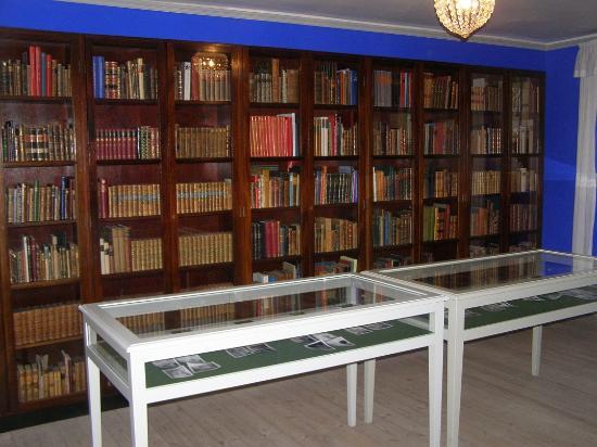 Bakkehusmuseet: Biblioteket.