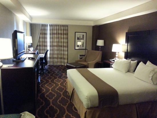 Holiday Inn Express Philadelphia-Midtown: Our Room at Holiday Inn Express Midtown