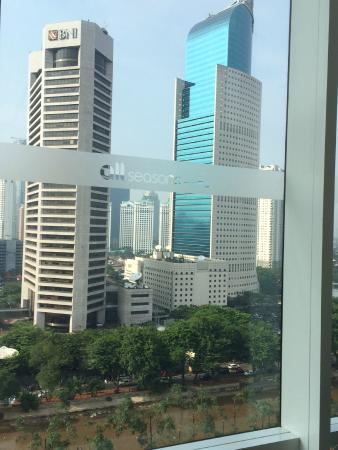 view of jakarta from the breakfast area picture of all seasons rh tripadvisor co za