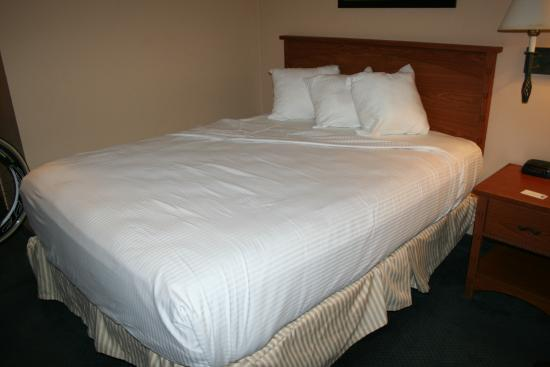 Best Western Plus Boomtown Casino Hotel : Intended to show ill fitting sheets at corner but did not show