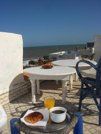 Dar Skala : Petit déjeuner en terrasse