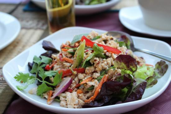 Si Siam Thai Restaurant: belle présentation