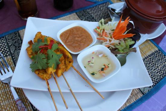 Si Siam Thai Restaurant: POULET SATAY