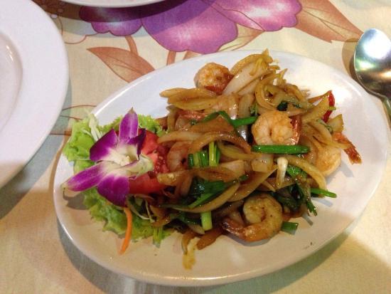 Siam Corner: Noodle con gamberi