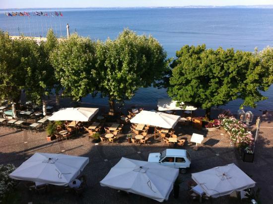 La Vittoria Boutique Hotel: Blick auf den See