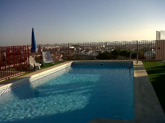 Hotel Traina: roof top pool