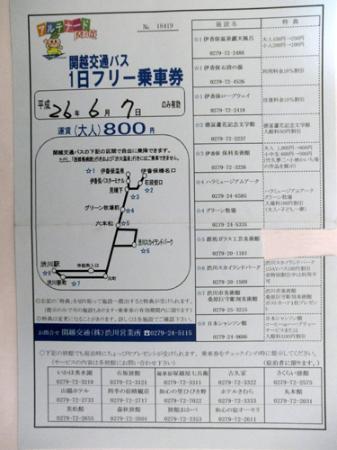 Hara Museum Arc : 関越交通バス1日フリー乗車券で入場割引を受けてね
