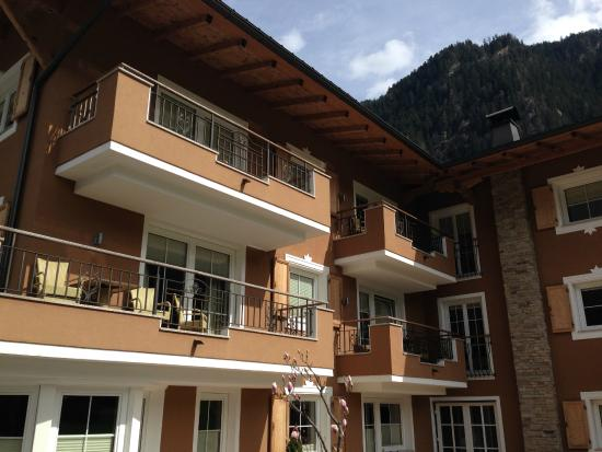 Apart Hotel garni Therese: On Arrival