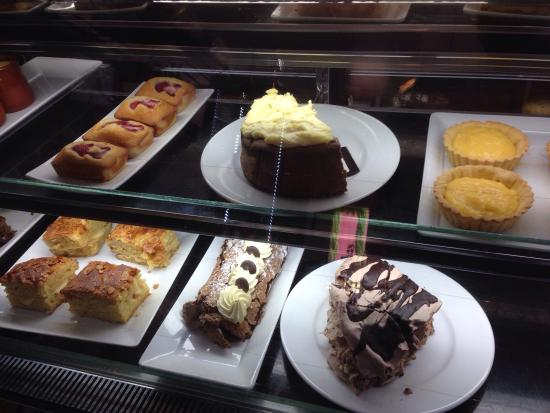 Tarrington, Australia: Great selection of desserts