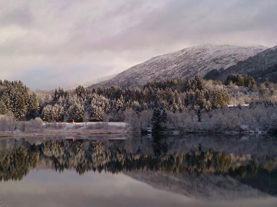 Haukeland, Noruega: Winter