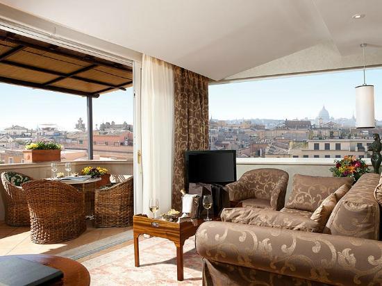 Hotel Nazionale: Terrace Suite