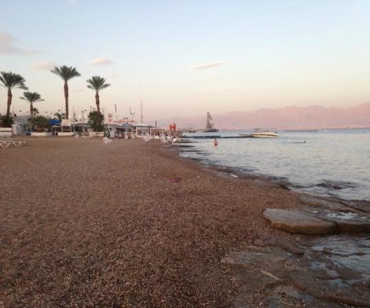 U Coral Beach Club Eilat: la plage