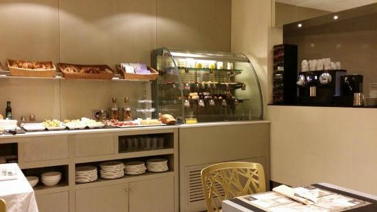 Princesa Munia Hotel & Spa: la colazione nel sotterraneo...