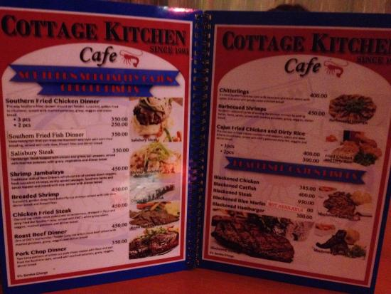 cottage kitchen cafe angeles city menu picture of cottage kitchen cafe angeles city 8412
