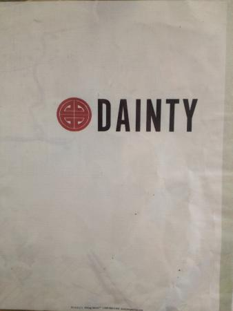 Menu - Picture of Dainty Restaurant, Angeles City ...
