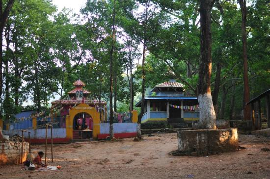 Dharan, Nepal: The site is simple with 2 small temples in a clearing in the forest