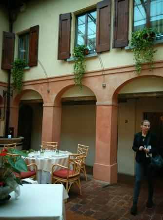 La Locanda Bagnara: la sala ristorante principale