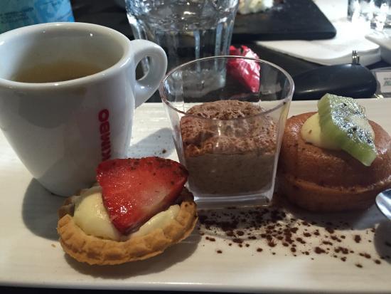 Le Brasero : Café gourmand