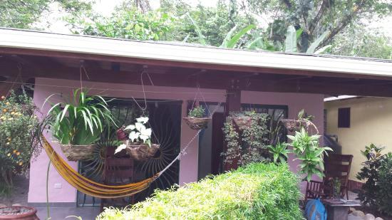 Casa Renada: Blick auf Terrasse der einzelnen Cabanas