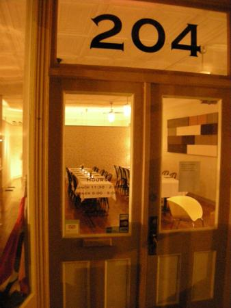 204 Main Bar & Bistro: Entrance to the Bistro