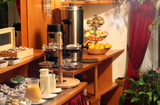 هايدن هوتل: Frühstücksraum