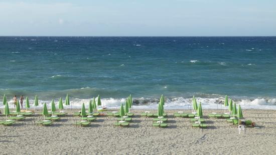 Golden Beach Hotel: Ausblick äußerste Meerblickzimmer