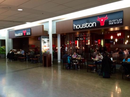 Montreal pierre elliott trudeau intl airport yul canada for American cuisine houston