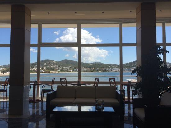 Hotel Argos : Vista da recepção