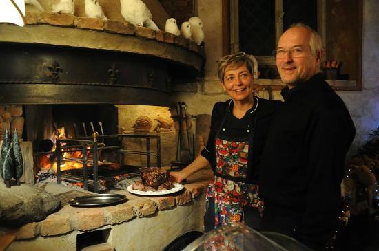 Ristorante Albergo Quattro Gigli: Chef Fulvia & The Boss Luigi