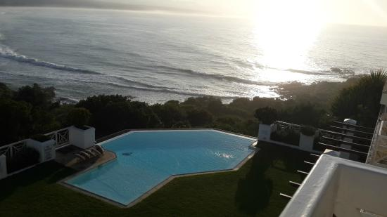The Plettenberg Hotel: the indian ocean, 3000km away is antartica