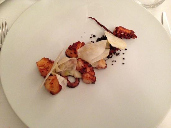 cucina cereda piovra con rapa bianca e patate