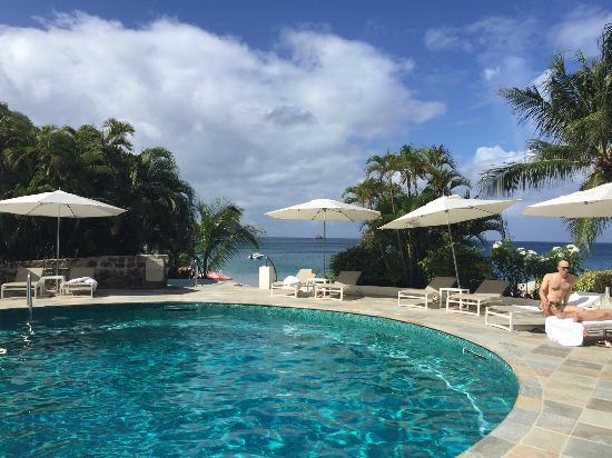 Cap Estate, Saint Lucia: one of the three pools
