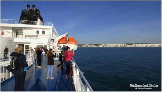 MyFerryLink Calais - Dover : A bord du Berlioz
