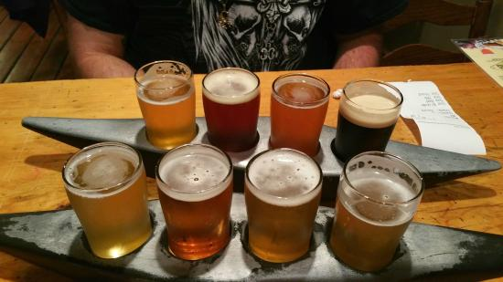 Kern River Brewing Company : Our Samplers