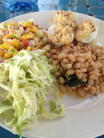 Blue Osa Yoga Retreat and Spa : The amazing food!!