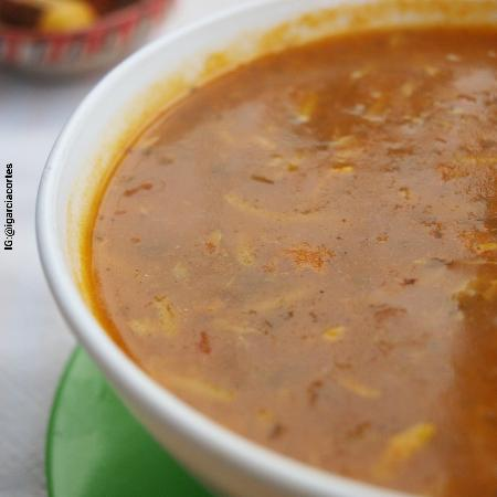 Restaurant Morisco: Harira, primer plato menú del día