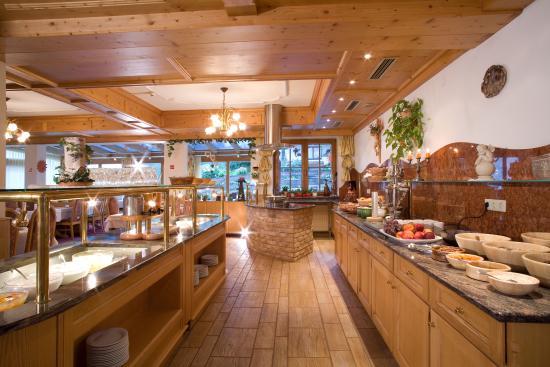 Hotel Alpenpanorama : Buffet