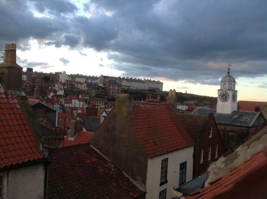 White Horse and Griffin: View from our window