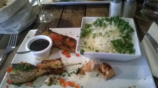 Le Pachyderme: Petit bémol sur toute cette verdure sur le riz  !!!