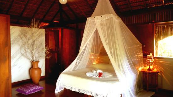 Aldeia da Mata Eco-Lodge : Interior do Bangalô Master Frente Mar
