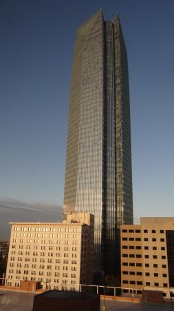 Sheraton Oklahoma City Downtown Hotel: View from the room